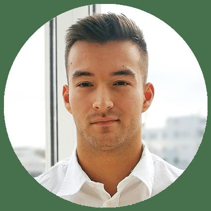 Mitarbeiter SchadenFux24 Joel Grau