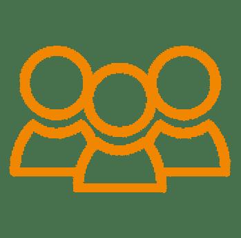 Icon Beteiligte einladen Schadenmanagement Hausverwaltung