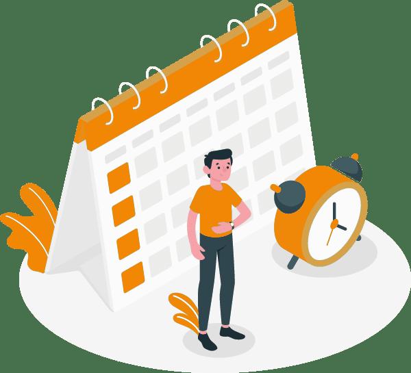 Versicherungsmakler Schadenmanagement Abschnitt Termine
