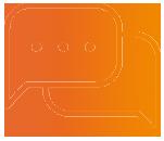 Immobilienverwalter Schadenmanagement Icon Kommunikation