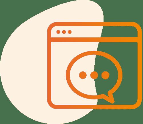 Handwerker Schadenbearbeitung Icon Kommunikation